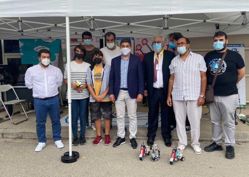Η ΔΙΚΤΥΩΣΗ στην έκθεση Αθλητικής Ρομποτικής στα πλαίσια του Rally Acropolis