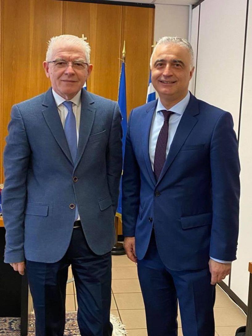 Επίσκεψη του βουλευτή της Ν.Δ. Λάζαρου Τσαβδαρίδη στον Πρόεδρο του ΕΛΓΑ - Οι προτάσεις και τα θέματα που συζήτησαν