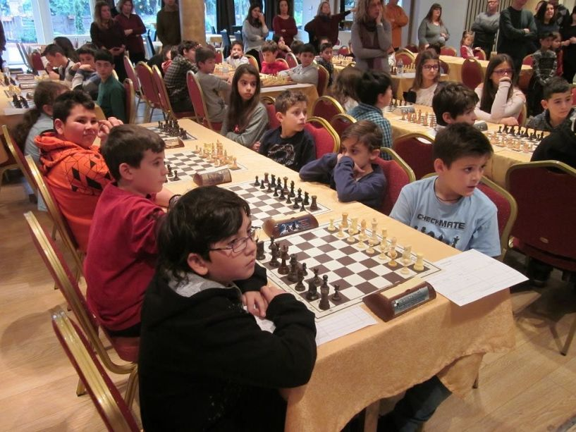 Γιορτή Σκακιού Δημοτικών Σχολείων το