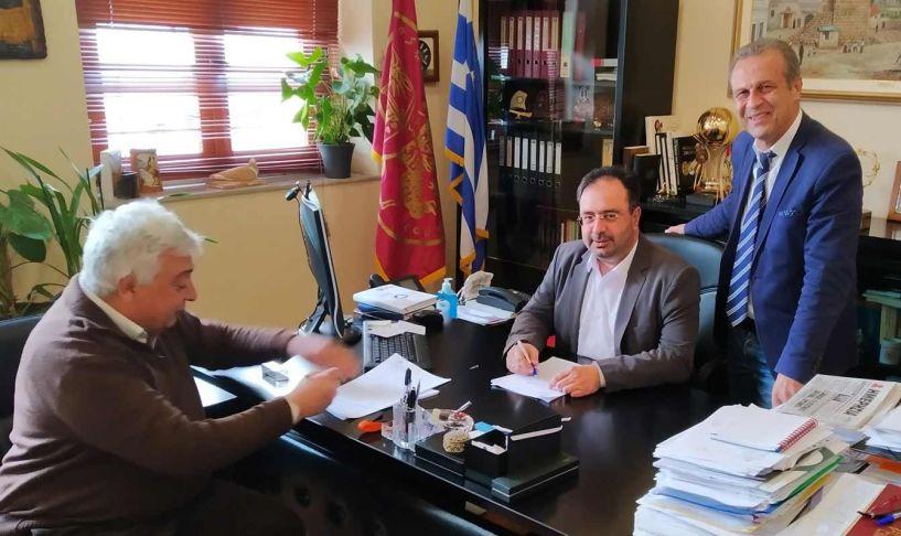 Υπογραφή  συμβάσεων Προϋπολογισμού 960.000ευρώ από το Δήμο Βέροιας