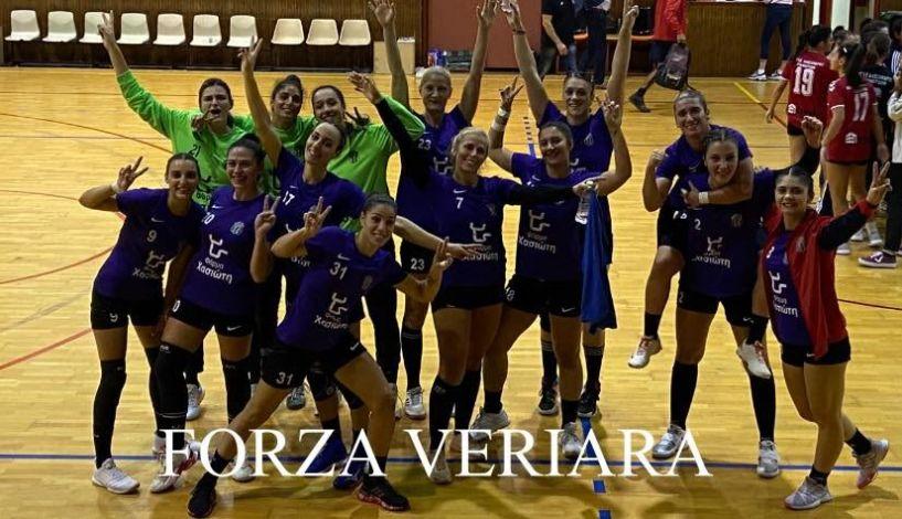 Α1 Γυναικών Άνετη νίκη 18-34  στα Γιαννιτσά για τη Βέροια 2017 Πέτυχε το 3 στα 3