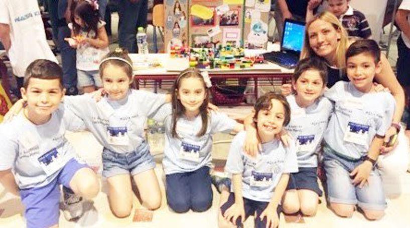 Στη Μονή Λαζαριστών - Το 1ο Δημοτικό Σχολείο Βέροιας στη γιορτή Εκπαιδευτικής Ρομποτικής  Έρευνας και Καινοτομίας
