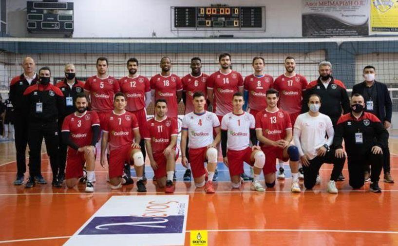 Αναβολή αγώνα Παναθηναϊκός - Φίλιππος Βέροιας Volleyball