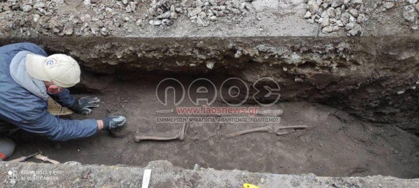 Βέροια: Τελευταίες εξελίξεις για τον ανθρώπινο σκελετό που βρέθηκε στα έργα της ΔΕΥΑΒ