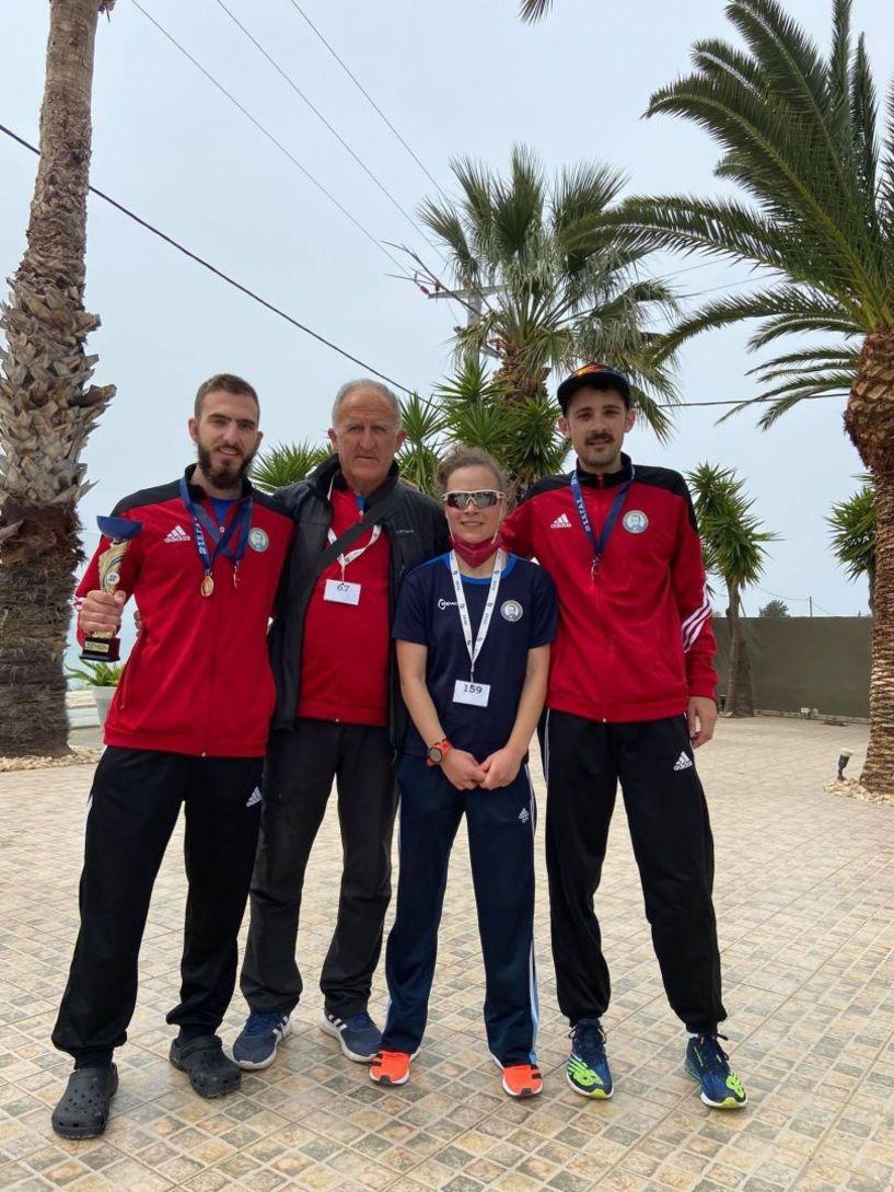 Τρία μετάλλια για τους βαδιστές του ΟΚΑ Βικέλα Βέροιας  στο Παν/νιο πρωτάθλημα 20χιλ  /Ανδρών /Γυναικών και Νέων.  ην