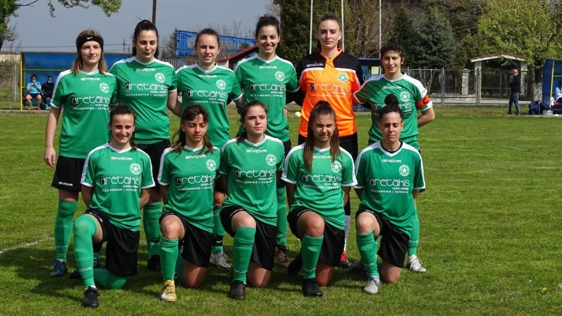 Α' Εθνική γυναικών .Βαριά ήττα  της Αγ. Βαρβάρας 6-1 στον Εύοσμο