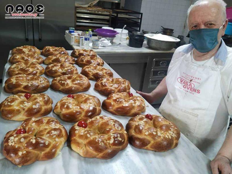 Συμβουλές και μυστικά για το πασχαλινό τσουρέκι από τον παλαιότερο ζαχαροπλάστη της Βέροιας (Βίντεο - Εικόνες)