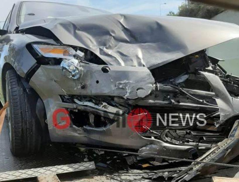 Βέροια: Τροχαίο ατύχημα στον κόμβο για Θεσσαλονίκη (Εικόνες)