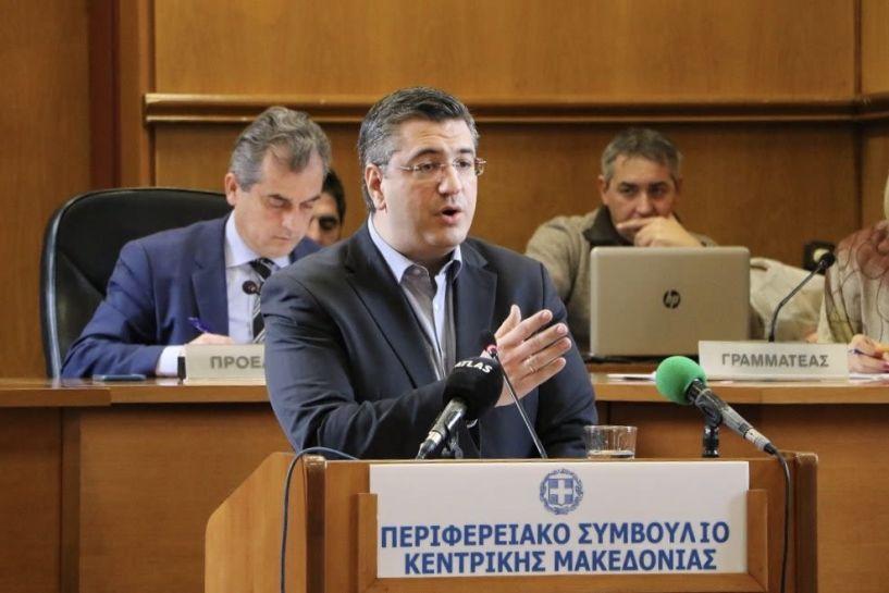 Α. Τζιτζικώστας: «Για πέμπτη συνεχή χρονιά  η Περιφέρεια Κεντρικής Μακεδονίας,  πρώτη σε απορρόφηση κονδυλίων του ΕΣΠΑ»