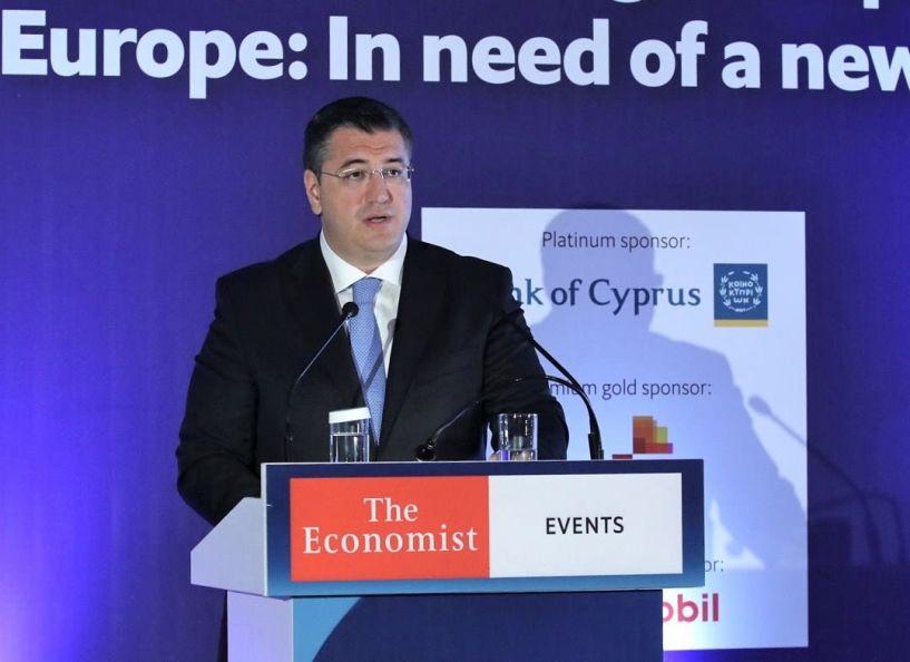 Α. Τζιτζικώστας από το 15th Cyprus Summit του Economist: «Η Κεντρική Μακεδονία η πιο ελκυστική Περιφέρεια στη Μεσόγειο για επενδύσεις»
