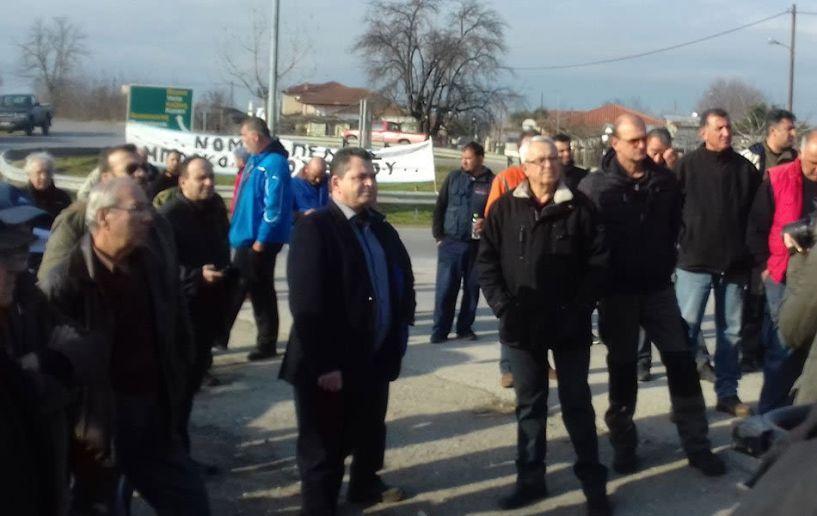 """Κώστας Καλαϊτζίδης: """"Όλη η Ημαθία συμμερίζεται τα προβλήματα των αγροτών"""""""