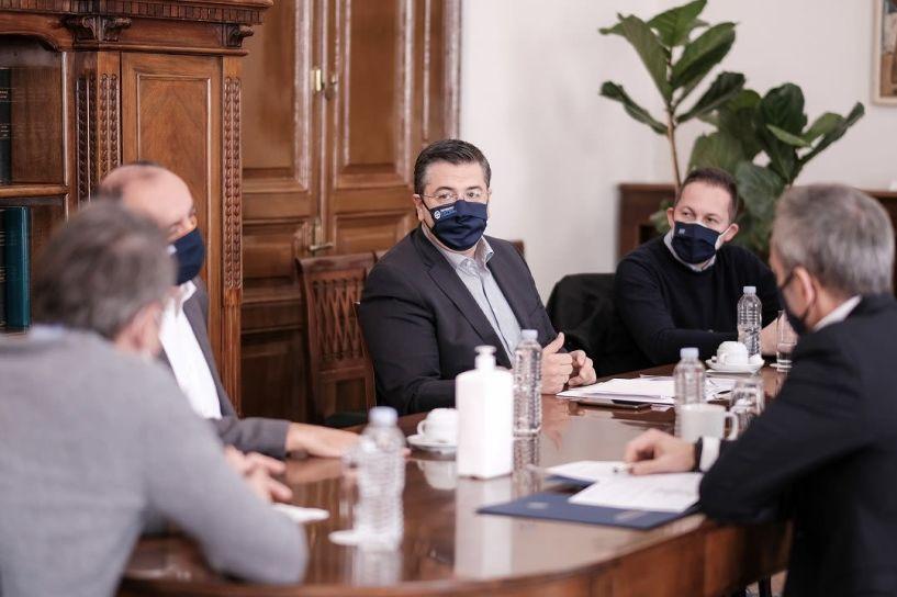Δηλώσεις του Απόστολου Τζιτζικώστα μετά τη σύσκεψη με τον Πρωθυπουργό Κυριάκο Μητσοτάκη