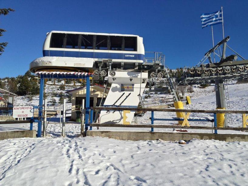 Βλάβη της Δ.Ε.Η. στο Χιονοδρομικό Σελίου-Πιθανό να ανοίξει μετά τις 10.30