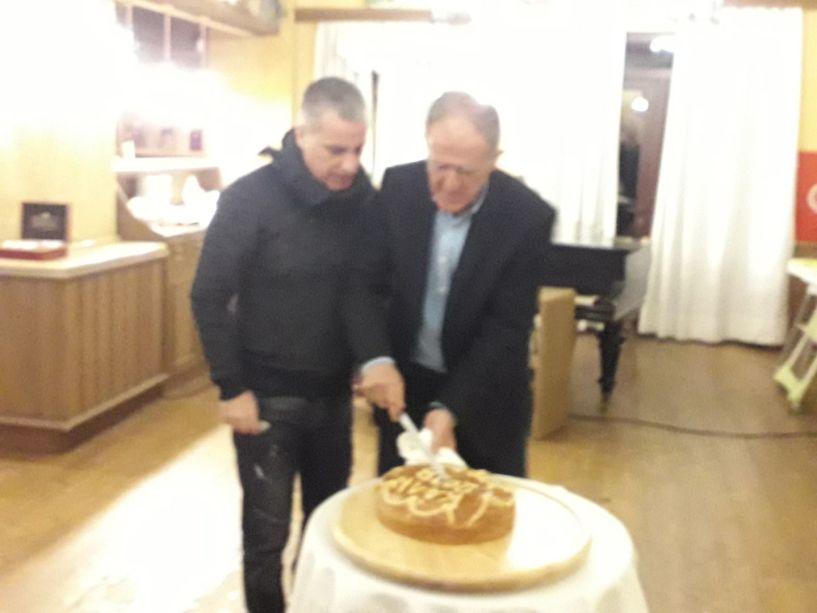 Ο Σύλλογος Δρομέων Βέροιας έκοψε την πίτα στο Αιγές Μέλαθρον