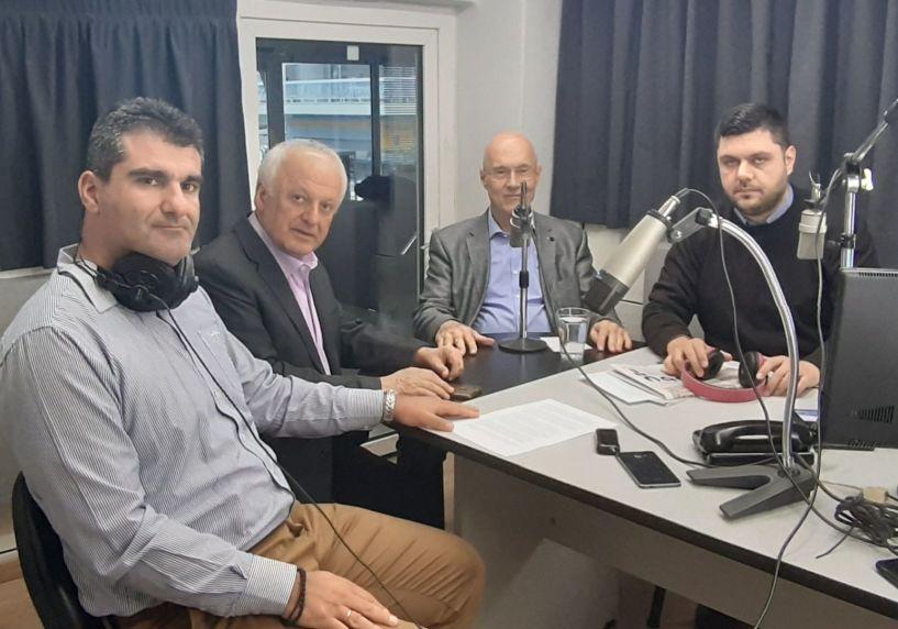 Ο υπ. ευρωβουλευτής  της Ν.Δ. Γιώργος Κρεμλής ζωντανά στον ΑΚΟΥ 99.6