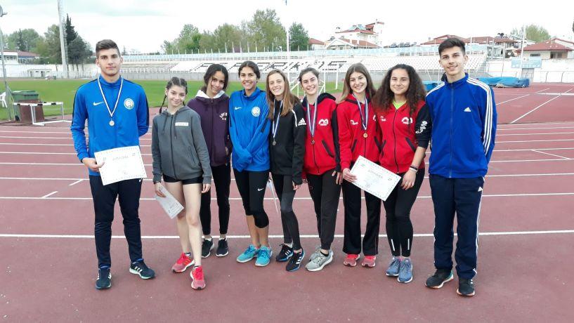 16 μετάλλια οι Βεροιώτες αθλητές  και πολλά ρεκόρ  στο Διασ/κο πρωτάθλημα στίβου παίδων κορασίδων