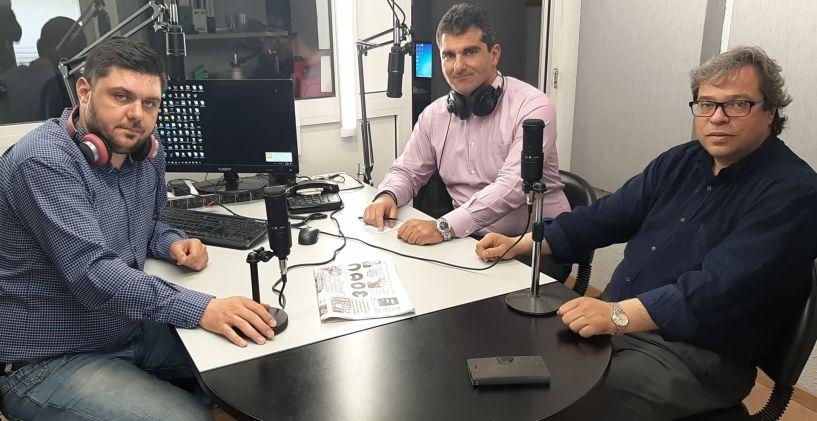 «Λαϊκά και Αιρετικα» (19/4): Συνέντευξη του υπ. Δημάρχου Βέροιας Αντ. Μαρκούλη στην εκπομπή, υποψήφια Περιφερειακή Σύμβουλος η Σ. Υφαντίδου