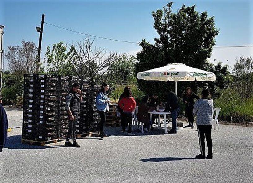 Διανομή Νωπών Τροφίμων μέσω του Προγράμματος ΤΕΒΑ  στην Αλεξάνδρεια - Στις 18 και 19 Ιουνίου