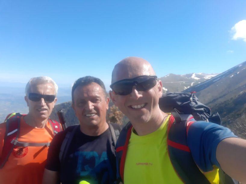 ΕΟΣ Νάουσας Όλυμπος  ,κορυφή Κίτρος  2422 Μέτρα υψόμετρο