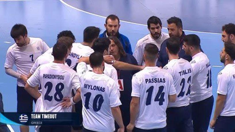 Η Εθνική ομάδα χαντ μπολ Ανδρών έχασε 31-21 από την Σερβία στο Ζρένιανιν