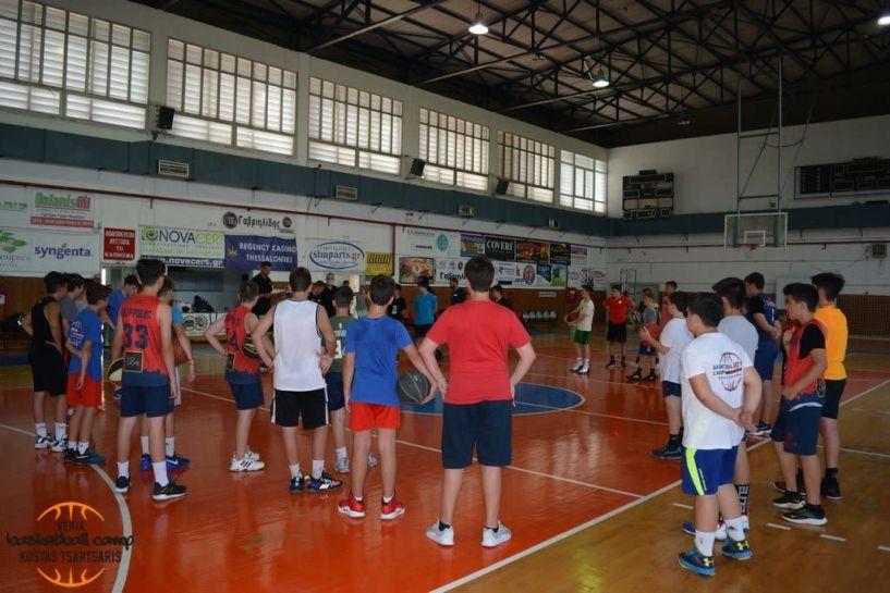 Ξεκίνησε το 6ο VERIA BASKETBALL CAMP 2021
