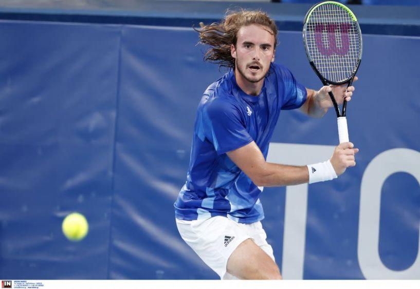 Στέφανος Τσιτσιπάς: Στους «16» ο Έλληνας τενίστας