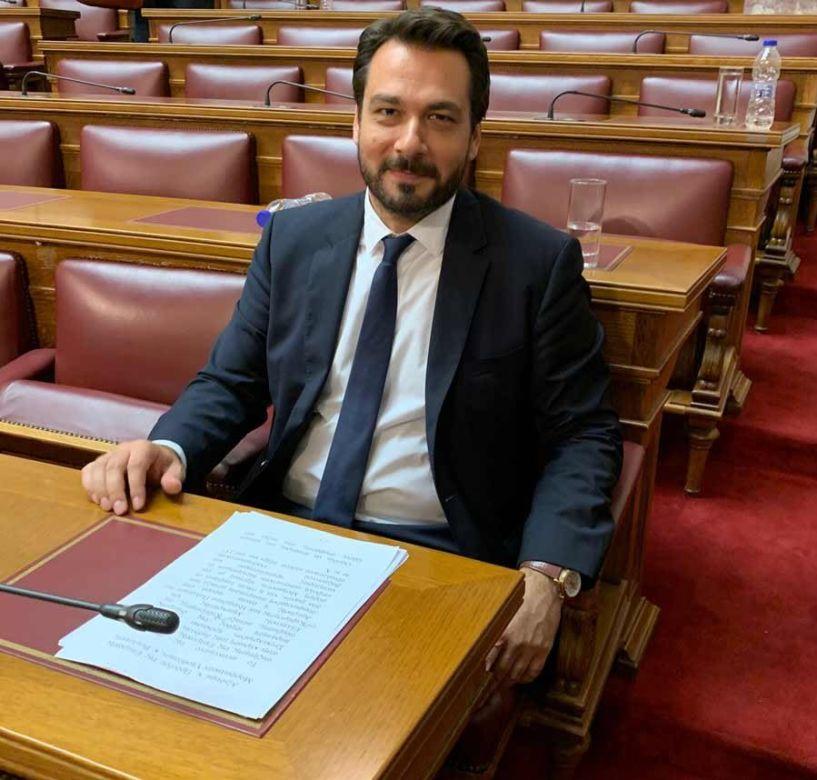 Ο Τάσος Μπαρτζώκας με ερώτηση στη Βουλή αναδεικνύει το ζήτημα της δια βίου εκπαίδευσης, εργασίας και της εν γένει κοινωνικής ενσωμάτωσης των ΑμεΑ στο κοινωνικό σύνολο