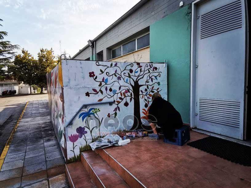 Όμορφες πινελιές καθαριότητας και βελτίωσης στους χώρους του ΔΑΚ Μακροχωρίου (Εικόνες)