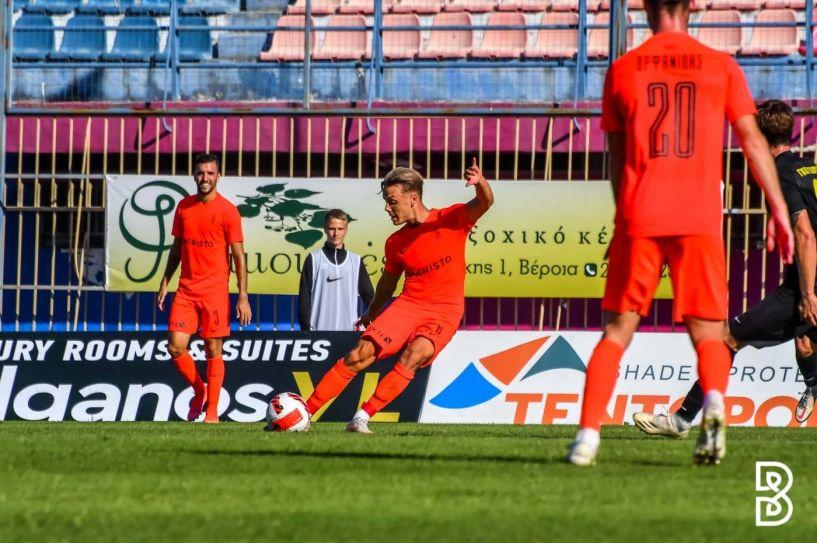 Ήττα 0-1 από την Καρδίτσα στο 118' της παράτασης και αποκλεισμός για την μέτρια Βέροια.