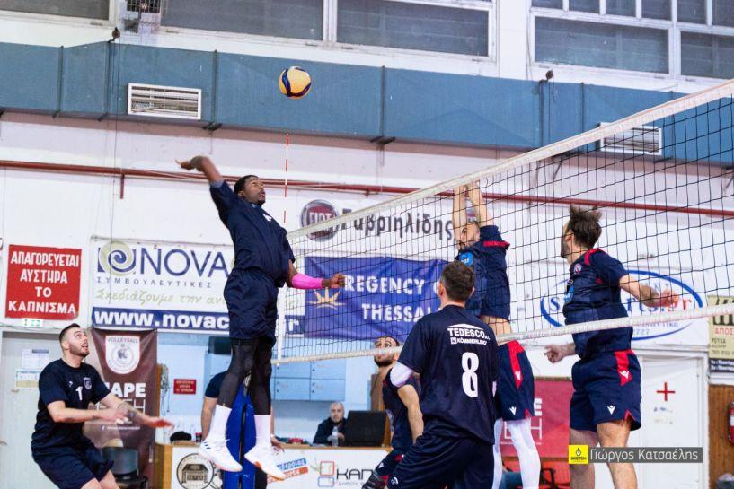 Πρώτη νίκη για το Φίλιππο Βέροιας στο 2ο Διεθνές τουρνουά της Βέροιας 3-0 σετ τον Πήγασο
