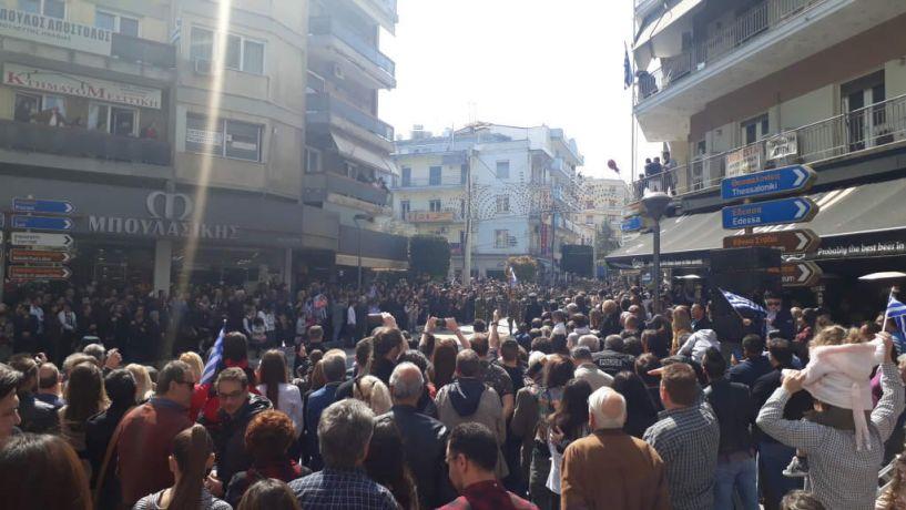 Εύξεινος Λέσχη Βέροιας: Με λαμπρότητα και επισημότητα γιορτάστηκε η 25η Μαρτίου