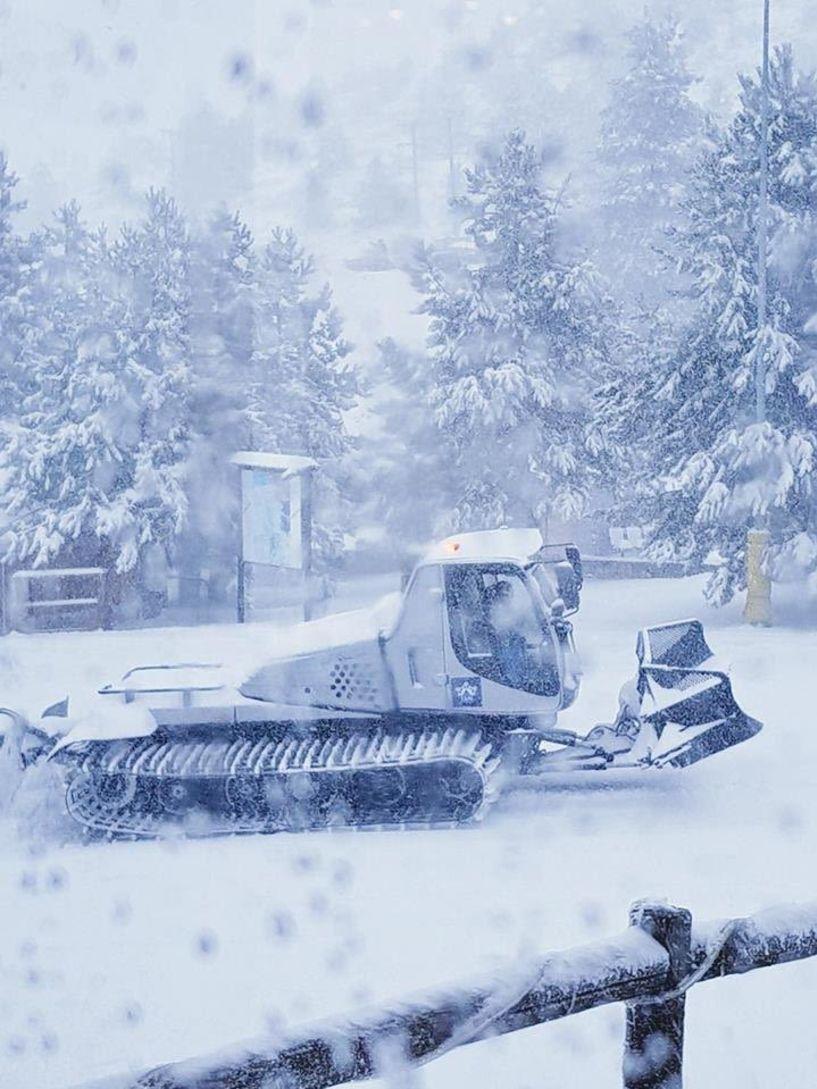 Λειτουργεί η παιδική πίστα την Κυριακή στο χιονοδρομικό Σελίου. Σε αναμονή για το