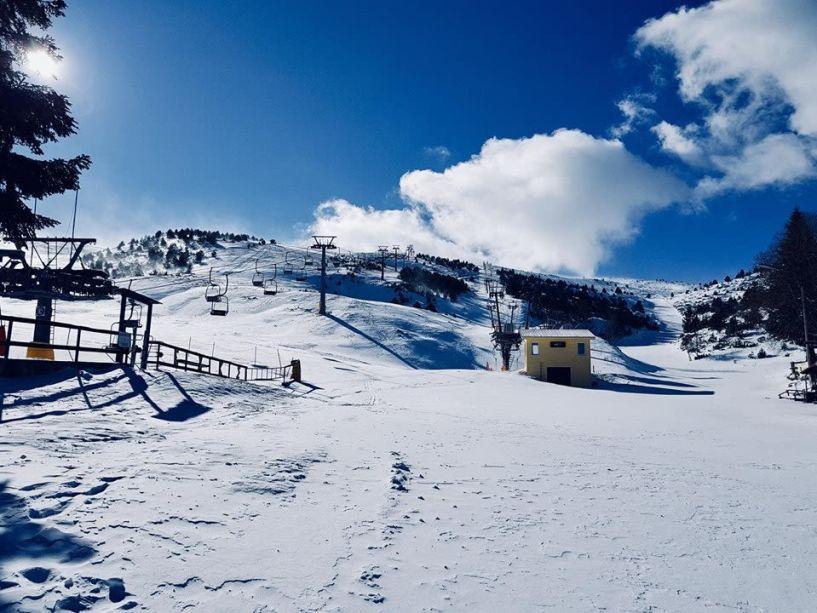 Και το Αρσούμπαση ανοικτό στο χιονοδρομικό Σελίου
