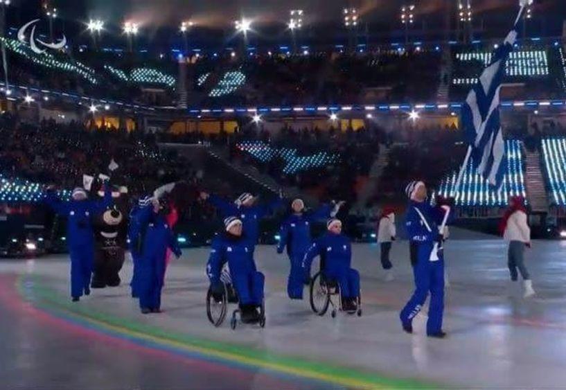 Πρώτος στο Στάδιο της PyeongChang με τη Γαλανόλευκη ο Κωνσταντίνος Πετράκης