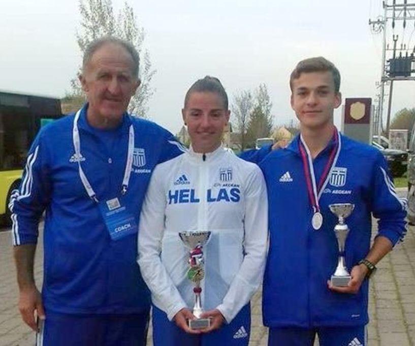5 μετάλλια για την ομάδα μας στο Βαλκανικό Πρωτάθλημα βάδην.3oς ο Άνθιμος Κελεπούρης