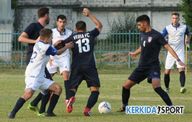 Βελτιωμένη η ΒΕΡΟΙΑ κέρδισε 2-1 τον Αλμωπό στην Αριδαία