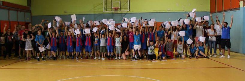 Τελετή λήξης των Ακαδημιών μπάσκετ του ΑΟΚ Βέροιας