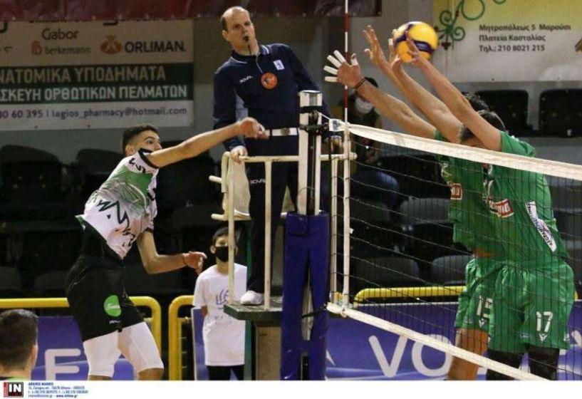 Το πρόγραμμα, η T.V. και οι διαιτητές της 4ης και 5ης αγωνιστικής στη Volley League 2020-21