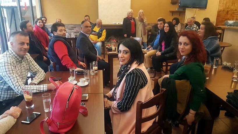 Γεωργία Μπατσαρά: Αναδεικνύουμε προβλήματα της καθημερινότητας και δεν μένουμε σε  ...ιδεογραφήματα!!!