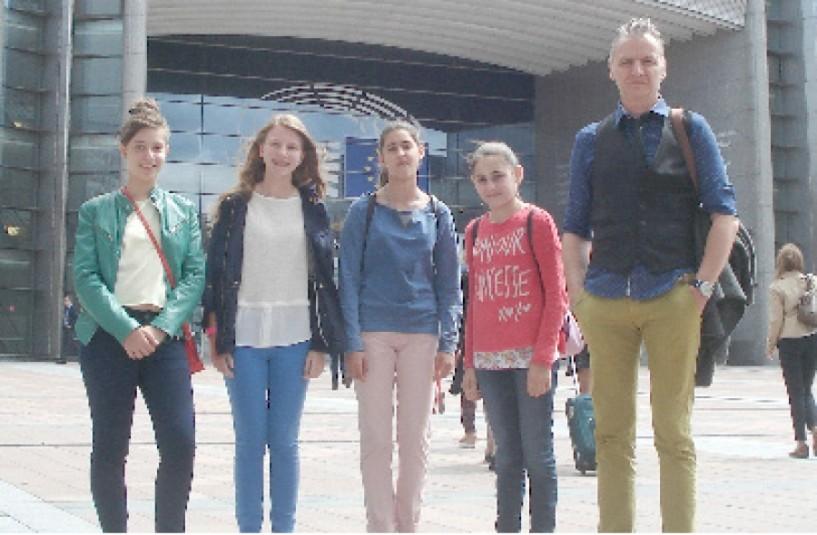 Στο Ευρωκοινοβούλιο των Βρυξελλών το 3ο Γυμνάσιο Νάουσας
