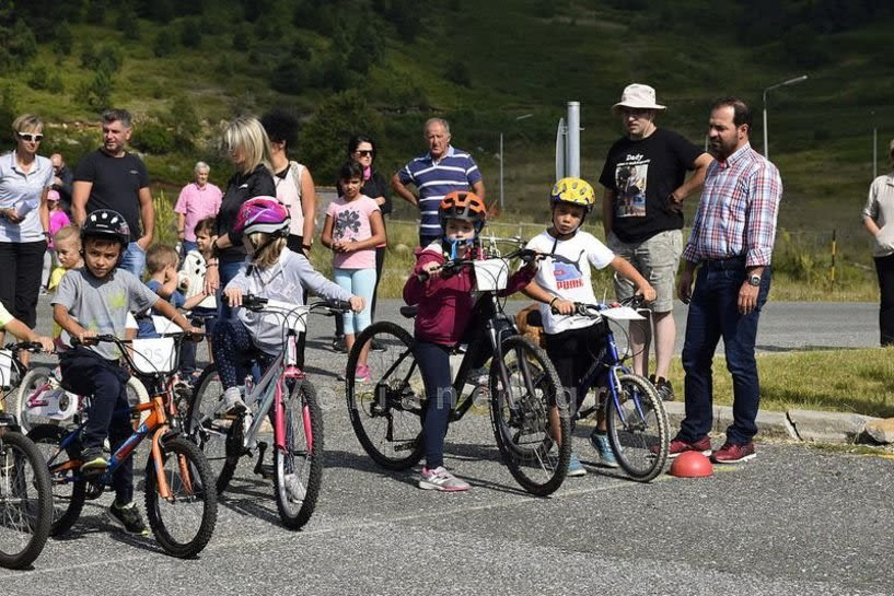 Ποδηλατικοί αγώνες στο Σέλι! Στο parking του Εθνικού Χιονοδρομικού Κέντρου