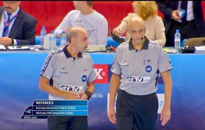 Φινάλε με τελικό για Κατσίκη- Μιχαηλίδη διαιτητές χαντ μπολ