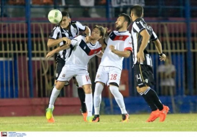 Έχασε 4-0 στο Αιγίνιο μια ομάδα της Βέροιας με Κ-20 και νέες μεταγραφές. Δύο γκολ για τον Αιγινιακό ο Φασίδης