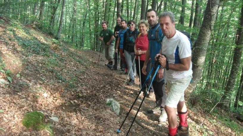 Ταξιάρχες - 3-5  Πηγάδια, με τον Σύλλογο Xιονοδρόμων Ορειβατών  Βέροιας