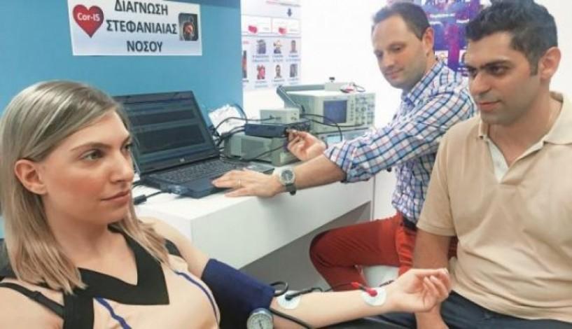 Η Μαίρη Δούτση μέλος ερευνητικής ομάδας του ΑΠΘ που παρουσιάζει στη ΔΕΘ καινοτόμα συσκευή ανίχνευσης της στεφανιαία νόσου στο... σπίτι!