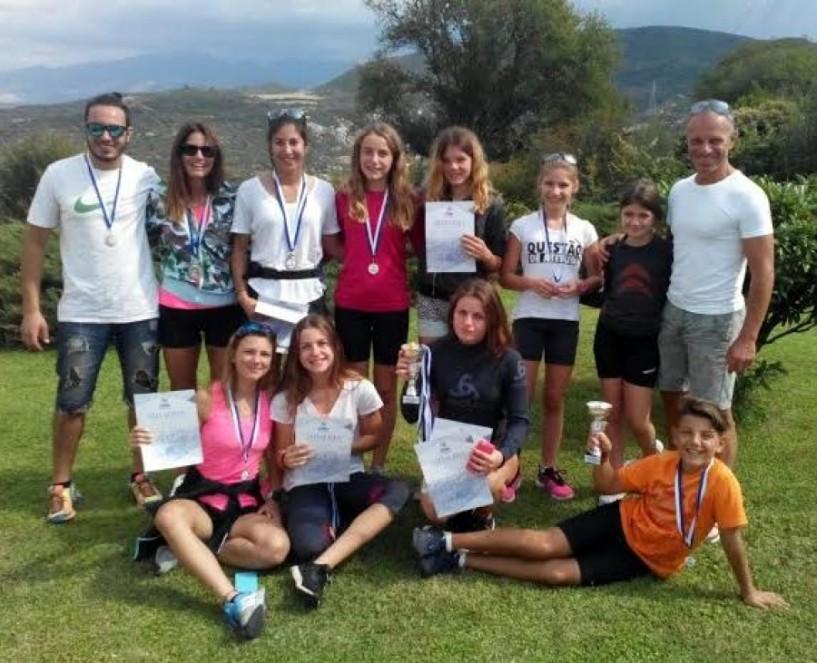 Με 23 μετάλλια γύρισαν από τους αγώνες ρόλερ σκι στην Αμφίπολη οι αθλητές του ΕΟΣ
