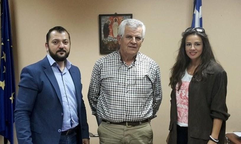 Συνάντηση Ηλία Γραμματικόπουλου με τον νέο διοικητή του νοσοκομείου Ημαθίας