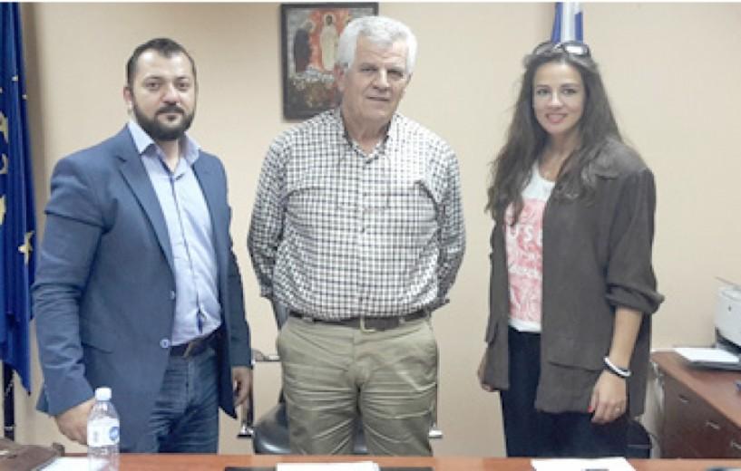 Συνάντηση του «Δεσμού» με  το νέο Διοικητή του Γ.Ν. Ημαθίας