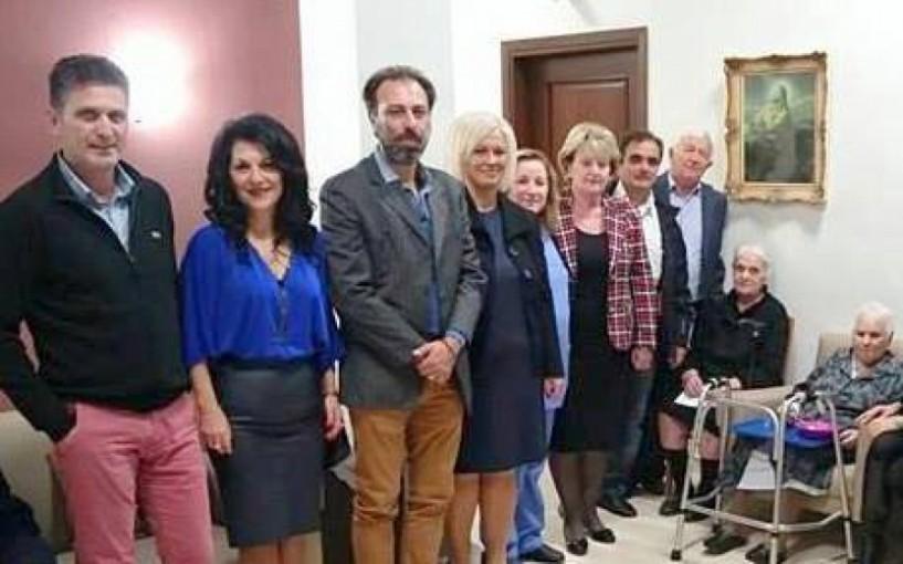 Επίσκεψη της δημοτικής οργάνωσης Βέροιας της Ν.Δ. στο Σωσσίδειο