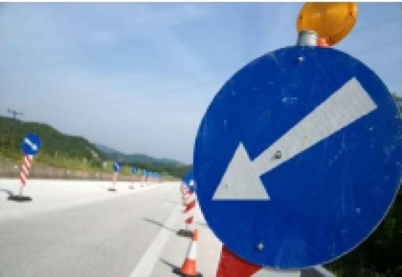 Εκτροπή κυκλοφορίας οχημάτων για ένα μήνα στο δρόμο παράλληλα της διώρυγας Μακροχωρίου